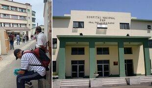 Largas colas en hospital de la Policía Nacional para realizarse descarte de coronavirus