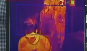 Moderno sistema de cámaras térmicas puede identificar a personas con fiebre en tumultos