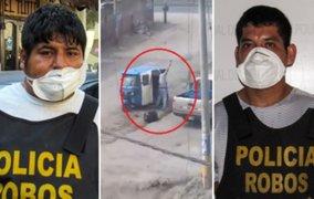 Capturan a delincuentes que asaltaron a balazos a repartidor de pollos