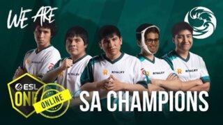 Dota 2: equipo peruano logra su primer campeonato internacional al ganar el ESL One Sudamérica
