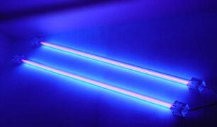 San Isidro: utilizan luz ultravioleta para eliminar al coronavirus