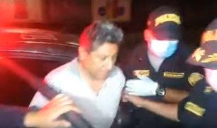 Huarochirí: detienen a alcalde distrital por ocasionar accidente durante toque de queda