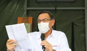 Martín Vizcarra brindará Mensaje a la Nación desde nuevo Hospital de Ate