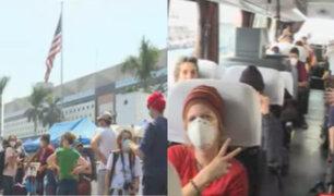 Turistas extranjeros varados en Perú buscan regresar a sus países