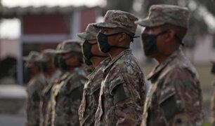 Covid-19: más de 15 mil reservistas se presentaron al llamado del Gobierno