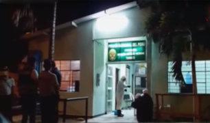 Tumbes: fumigan instalaciones de comisaría tras caso de Covid-19