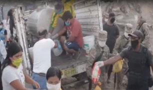 Municipio de Pachacámac entregó ayuda a familias vulnerables