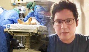 Peruano sobrevive al coronavirus en España