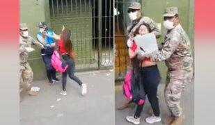 Violenta mujer termina en la comisaría tras agredir a autoridades durante intervención