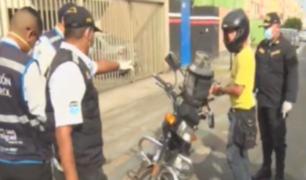 San Miguel: patrullaje dejó 10 detenidos este domingo