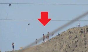 Rímac: captan a más de 50 personas volando cometas pese a toque de queda