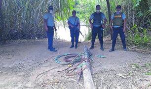 Hallan cables aéreos utilizados por extranjeros para cruzar la frontera
