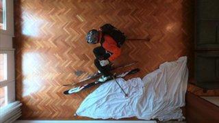 ¿Esquiar sin salir de casa?: el divertido tutorial para no infringir la cuarentena