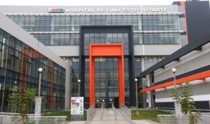 Nuevo hospital de Ate llegó al límite de su capacidad por pacientes con coronavirus