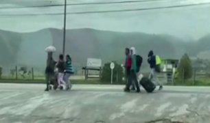 Venezolanos regresan a su país en medio de la pandemia