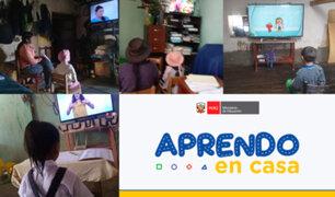 Iniciaron las clases virtuales para escolares a nivel nacional.