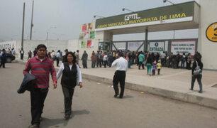 Atención: este jueves y viernes Santo no atenderá el Gran Mercado Mayorista de Lima