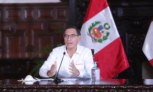Presidente Vizcarra reporta 2954 infectados con Covid-19, 109 con ventilación mecánica