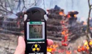 Ucrania: incendio forestal en Chernobyl causa aumento en la radiación