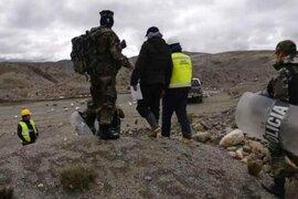 Puno: detienen a presuntos mineros ilegales en pleno estado de emergencia