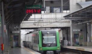 Metro de Lima: Conoce el nuevo horario de la Línea 1 desde este lunes
