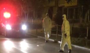 SJL: hombre que habría fallecido por covid-19 permanece más de 20 horas en su casa