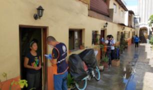 Municipalidad de Miraflores entregó 197 canastas a vecinos en extrema pobreza