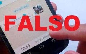 Covid-19: personas que difundan noticias falsas podrían hasta 6 años a prisión