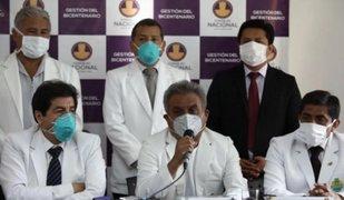 Colegio Médico del Perú recomienda extender cuarentena lo que resta del mes de abril