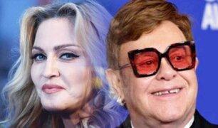 Madonna y Elton John crean millonarios fondos para ayudar a afectados por COVID-19