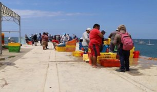 Piura: cierran temporalmente Desembarcadero de Pesca Artesanal de Cabo Blanco