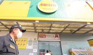 Metro: dos trabajadores de locales de Independencia contrajeron el Covid-19
