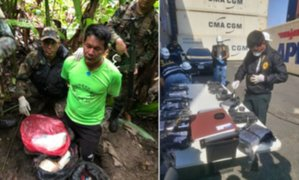 La Dirandro incauta 91 kilos de droga en dos días durante estado de emergencia