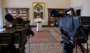 Vaticano: ceremonias religiosas por Semana Santa serán transmitidas a través de plataformas digitales