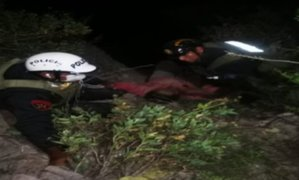 Arequipa: Obrero no respeta toque de queda y termina en barranco
