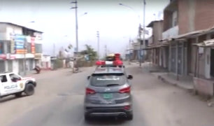 Jueves Santo: policía realiza operativo de vigilancia en Ventanilla