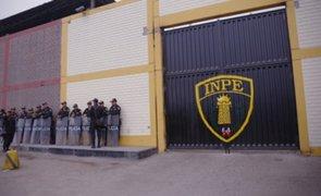INPE no recibirá a más reclusos en sus cárceles para evitar contagios de COVID-19