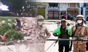 Tumbes: policía sorprende a ecuatorianos tratando de cruzar la frontera