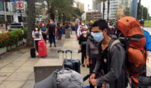 Miraflores: 400 turistas holandeses fueron repatriados ante emergencia por coronavirus