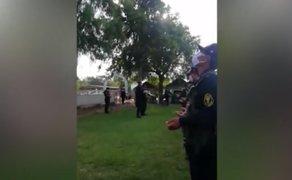 Coronavirus: policías oran y se encomiendan a Dios antes de patrullar las calles