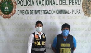 Piura: detienen a sujeto acusado de violar y embarazar a su hija