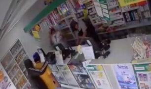 VES: delincuentes asaltan farmacias en pleno estado de emergencia