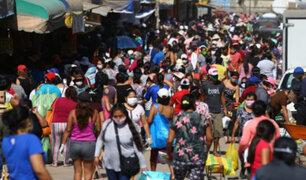 Más del 60 % de la población de Lima y Callao aún puede contagiarse de Covid-19, según estudio