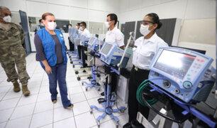 Marina de Guerra repotencia respiradores mecánicos para  EsSalud