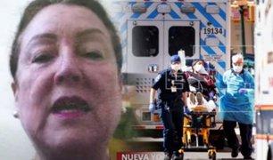 Cónsul de Perú en Nueva York confirma la muerte de 10 peruanos por COVID-19