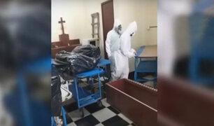 Mujer denuncia falta de respiradores artificiales en hospital Hipólito Unánue