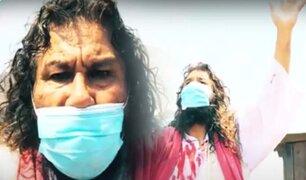 """""""Cristo Cholo"""" reza desde su casa por los peruanos en tiempos del coronavirus"""