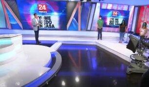 Labor en cuarentena: Panamericana TV trabaja para que usted no salga de casa