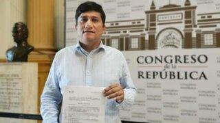 Congresista Felipe Castillo confirmó que tiene coronavirus