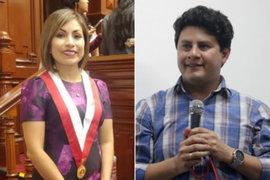 Coronavirus: la congresista Leslye Lazo y su esposo fueron hospitalizados